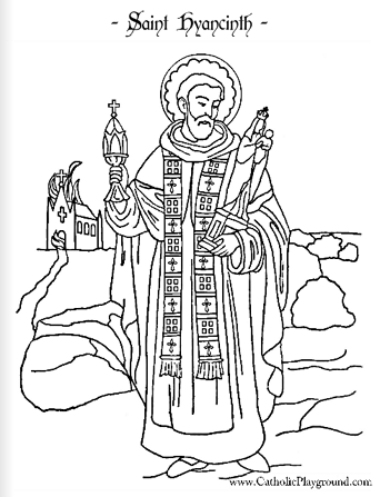 Saints Coloring Pages Catholic Playground St S Day Coloring Pages For Adults