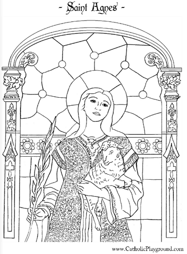 coloring saints pages for kids - photo#24