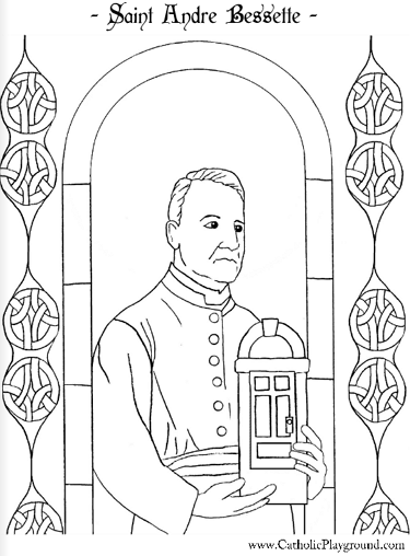 catholic all saints coloring pages - photo#19