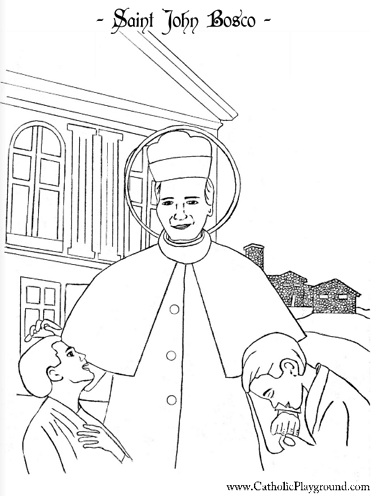 Saints Coloring Pages |