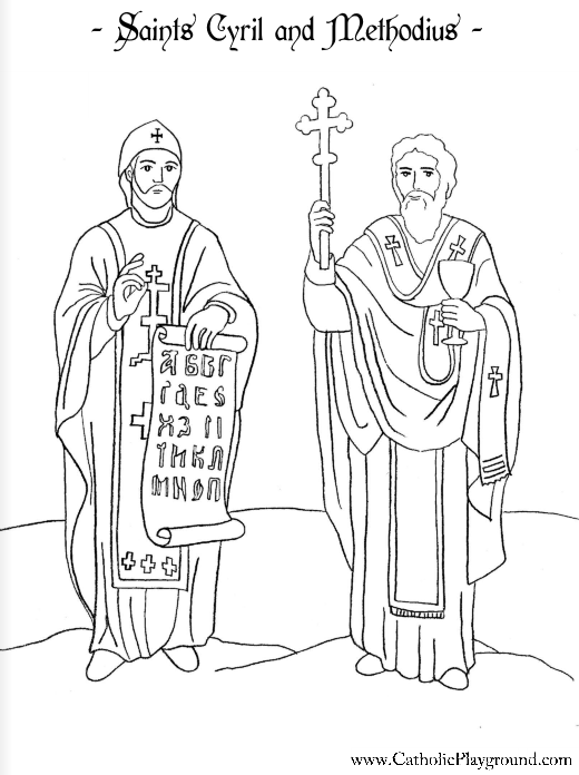 catholic all saints coloring pages - photo#17
