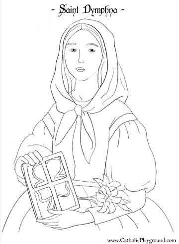 st sebastian coloring pages - photo#37