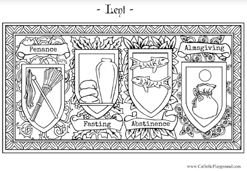 Lenten Coloring Pages Catholic Coloring Pages For Adults Printable ...
