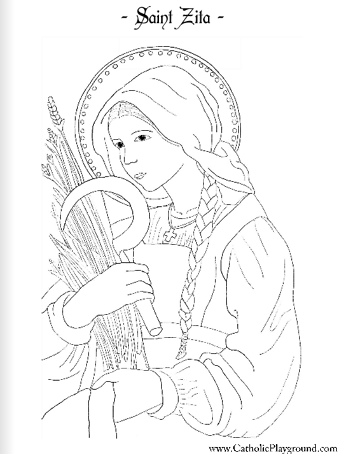 st sebastian coloring pages - photo#10
