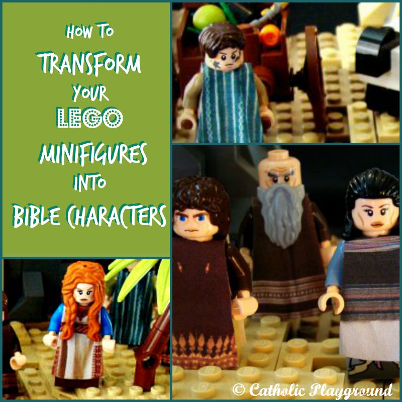 bible character figurines how to dress your lego minifigures as biblical characters